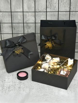 Xiuxiu Hộp giấy bao bì Quà tặng hộp tinh tế hộp quà tặng hộp trống tùy chỉnh lớn son môi hộp quà sin