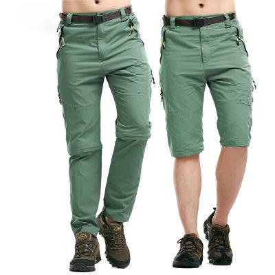 Đồ chống nắng mau khô Thể thao ngoài trời phần mỏng tách rời quần nam có thể nhanh khô quần chống mạ