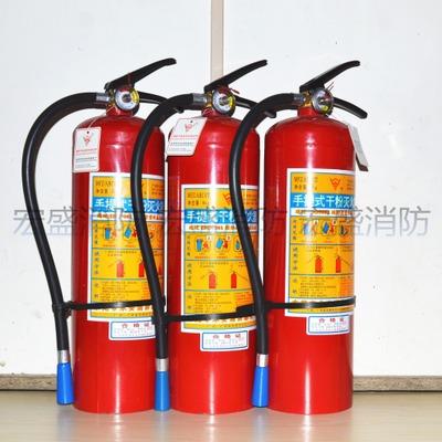 Bình chữa cháy Bình chữa cháy khô 4kg ABC cầm tay chữa cháy nhà xe 1kg với 3kg carbon dioxide dạng n