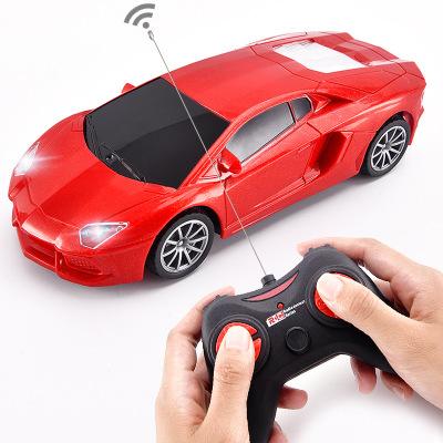 Mô hình xe Xe bốn bánh điều khiển từ xa Mô phỏng xe điện điều khiển từ xa xe mô hình trẻ em Xe đồ ch