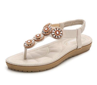 Thị trường giày nữ Dép nữ 2019 điểm mới khoan giày nữ ngoại thương cỡ lớn hỗ trợ thế hệ nền tảng Ama