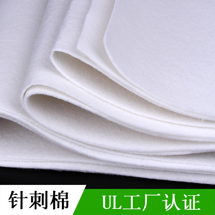 Zhicheng Vải không dệt sợi châm cứu không dệt vải pet trắng polyester ép kim nóng tùy chỉnh vải tổng