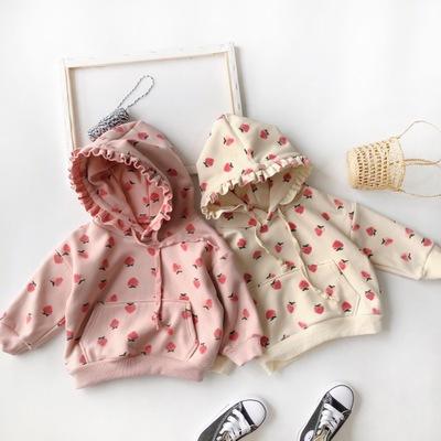 Thị trường trang phục trẻ em Mùa đông 2019 trẻ em mới mặc một thế hệ bé gái hai lớp composite cộng v