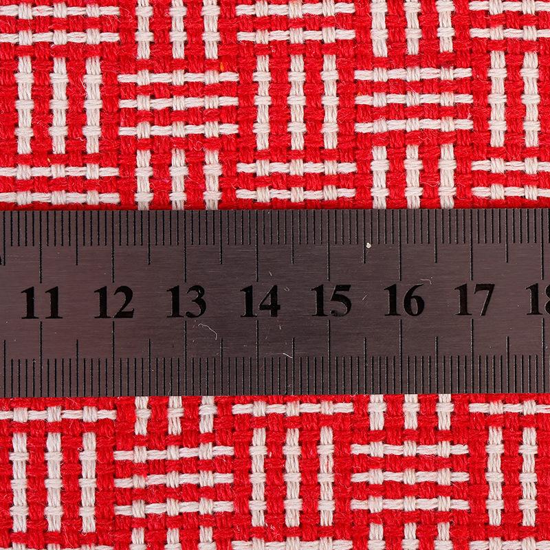 WEIZHENG Vật liệu chức năng Mới Kẻ sọc Sợi Jacquard Vải Polyester Cotton Vải Hộp quà tặng Trang chủ