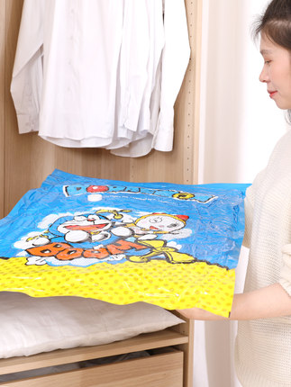 DR.STORAGE  Túi PE Bơm khí bơm chân không nén túi thêm quần áo lớn lưu trữ tạo tác túi bông vải quần