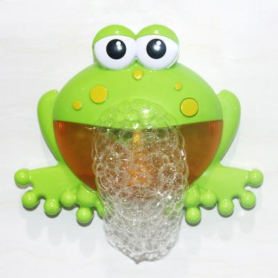 Đồ chơi chú ếch thổi bong bóng cho trẻ em .