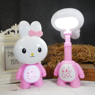 Đèn điện, đèn sạc Đèn bàn lớn có thể sạc lại Tiết kiệm năng lượng LED bảo vệ mắt học đêm Ánh sáng có