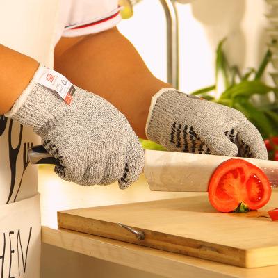 Găng tay chống cắt  Găng tay chống cắt chuyên nghiệp No Cry với cùng một nhà bếp bảo vệ cấp 5 cắt ra