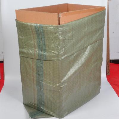 Bao dệt Bán buôn túi nhựa dệt màu xanh xám túi da rắn túi bao bì thể hiện trực tuyến cửa hàng đóng g