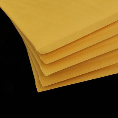 bao thư chống sốc Bong bóng phong bì bong bóng bao bì màng giấy màu vàng giấy kraft bong bóng phong
