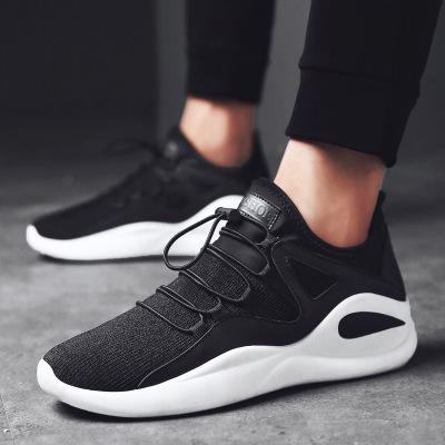 Giày lưới [1 giao hàng gấp đôi + vận chuyển] Giày lưới mùa thu 2019 thoáng khí cho nam mới