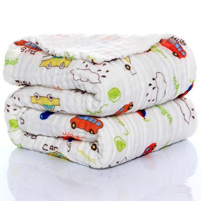 CHUNYA Khăn tắm Khăn bông gạc sáu lớp 110 * 110cm6 cho trẻ em Khăn tắm thấm nước và thoáng khí bán b