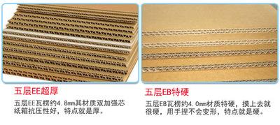 Thùng giấy Thùng carton bán buôn in tùy chỉnh sóng carton carton di chuyển nhanh thùng carton nhà sả