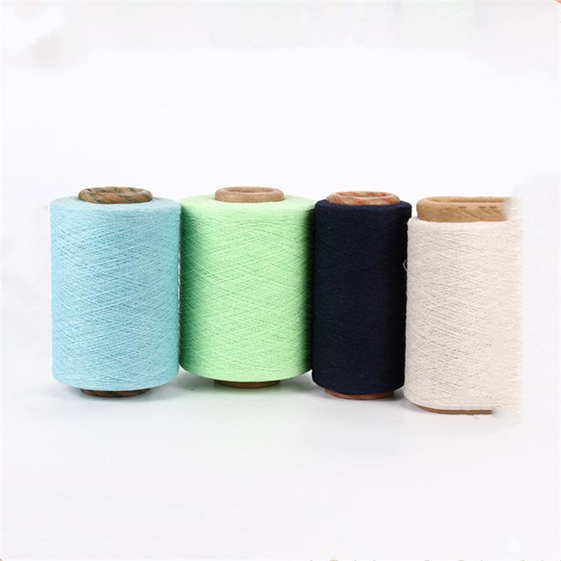 Sợi bông Các nhà sản xuất hàng hóa kéo sợi, sợi bông khai hoang, 2-32, bông polyester tẩy trắng, sợi