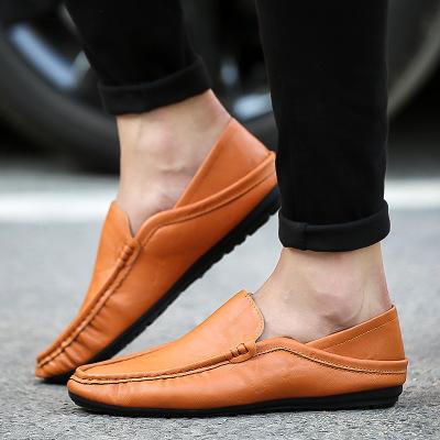Giày mọi đế thấp Mùa xuân hè Mới Giày dép nam Hàn Quốc Đặt chân Giày thoáng khí cho nam Giày thoải m