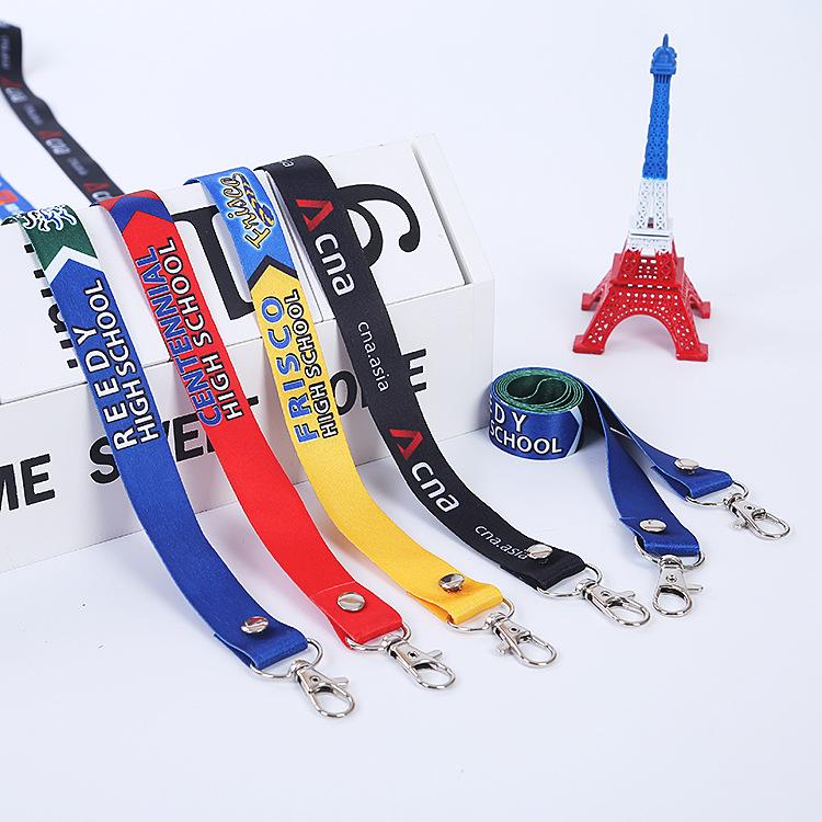 dây đeo Tài liệu làm việc dây buộc triển lãm phù hiệu phù hiệu dây buộc tùy chỉnh dây thừng nhà máy