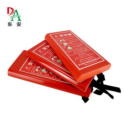 Thảm chữa cháy  Dongan bán hàng trực tiếp chăn chữa cháy chữa cháy dụng cụ đặc biệt bếp lửa 1 * 1 vớ