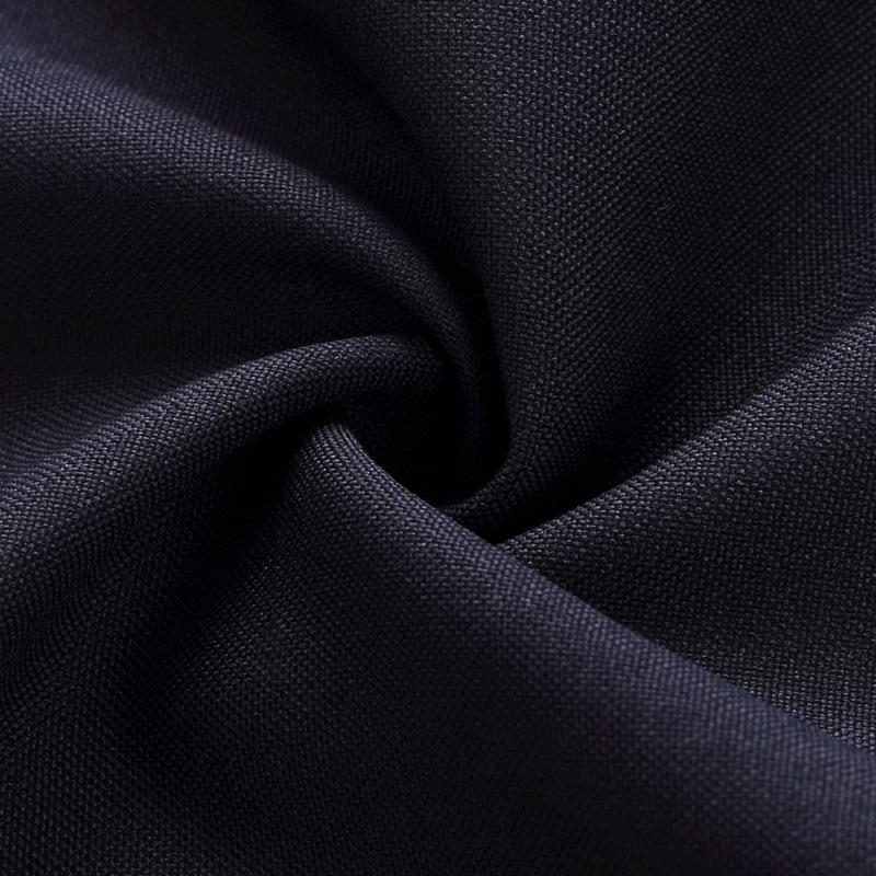 XIULUO Vải cotton pha polyester Váy dệt sẵn Roel 300D * 300D Váy tình nguyện Vải polyester dệt trơn