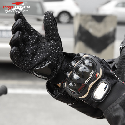 Găng tay bảo hộ PRO Motorcyclist Cross-country Full Finger Găng tay Racing Găng tay bảo vệ Găng tay