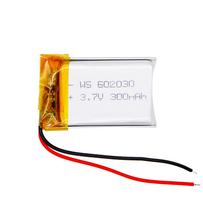 Pin Lithium-ion Pin lithium 3.7V polymer 602030 300mah khóa điện tử LED chiếu sáng thông minh mặc pi