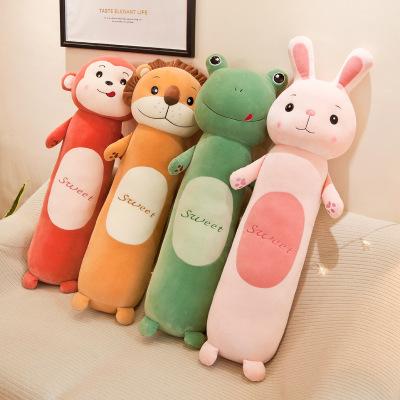 gối ôm Nhà sản xuất và dải mềm ngủ ngủ gối búp bê sáng tạo lười biếng đồ chơi trẻ em gối búp bê