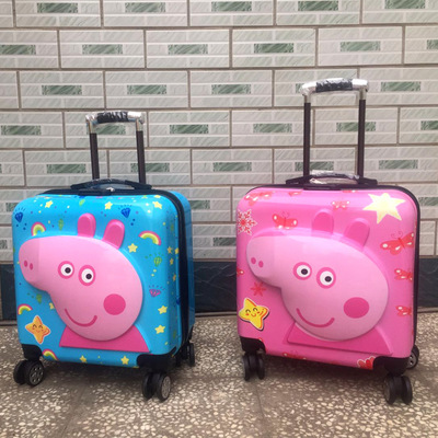 VaLi hành lý cho trẻ em với thiết kế hình hoạt họa dễ thương .