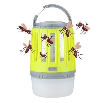 Đèn diệt muỗi  Vụ nổ xuyên biên giới sốc điện ngoài trời Đèn diệt muỗi Kết hợp đa chức năng là đèn l