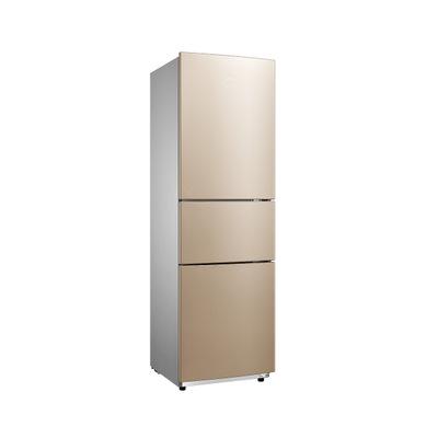 Midea Tủ lạnh Tủ lạnh Midea Tủ lạnh ba cửa Tủ lạnh gia dụng nhỏ tiết kiệm năng lượng BCD-210TM (E)
