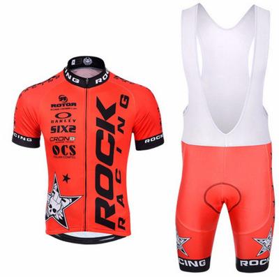 Trang phục xe đạp ROCK mới ngắn tay áo yếm phù hợp với phù hợp với xe đạp nam và nữ mô hình ẩm ướt q