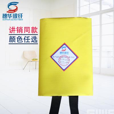 Thảm chữa cháy  Chăn lửa bọc silicon Suihua 1 m * 1 m silicone lửa chăn với cùng một đoạn chăn lửa G
