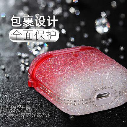 Aigo Hộp đựng tai nghe Star Diamond AirPods bảo vệ vỏ tai nghe Apple vỏ hộp thiết lập ipod không dây