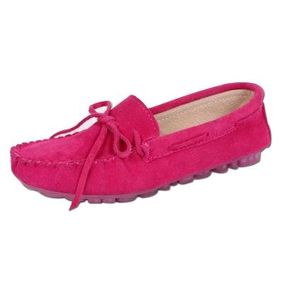 Thị trường giày nữ Giày đậu Hà Lan mới 2016 giày ren nữ nông miệng nông gân đáy giày y tá