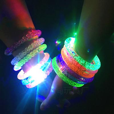 Đồ chơi phát sáng Vòng đeo tay bằng đèn LED LED Vòng đeo tay đầy màu sắc rực rỡ Cửa hàng đồ chơi nhỏ