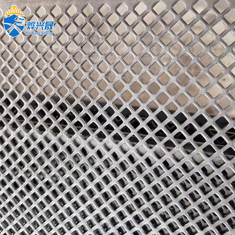 YEXINGSHENG Lưới kim loại [punching net] 304 thép không gỉ bảo vệ stprint nhà sản xuất mạ kẽm dập lư