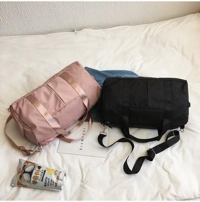 Túi xách du lịch Bán buôn giày khô và ướt tách thể thao nữ yoga phòng tập thể dục công suất lớn túi