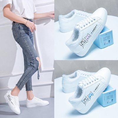 Giày trắng nữ Giày trắng nhỏ nữ sinh viên hoang dã văn học và nghệ thuật phiên bản Hàn Quốc tươi mát