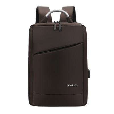 Túi đựng máy vi tính Nhà sản xuất ba lô tùy chỉnh kinh doanh túi máy tính nam USB sạc ngoài trời du