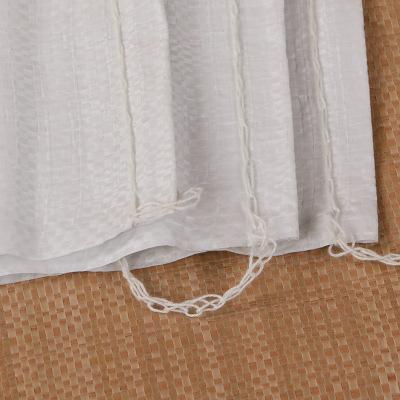 Bao dệt Sáng trắng tiêu chuẩn rắn da túi bán buôn tùy chỉnh trắng dệt túi bao bì nhựa dệt túi bao tả