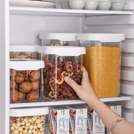 Artline  Chai nhựa  Đóng hộp lon nhựa thực phẩm lưu trữ nhiều hạt lưu trữ trong suốt chai lớn trái c