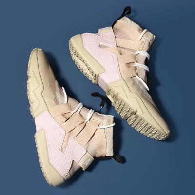 Giày FuJian Giày vải cao cấp Aj1 cho nam mùa hè bay dệt thoáng khí ầm ầm ngày Zun Air Force số 1 gi
