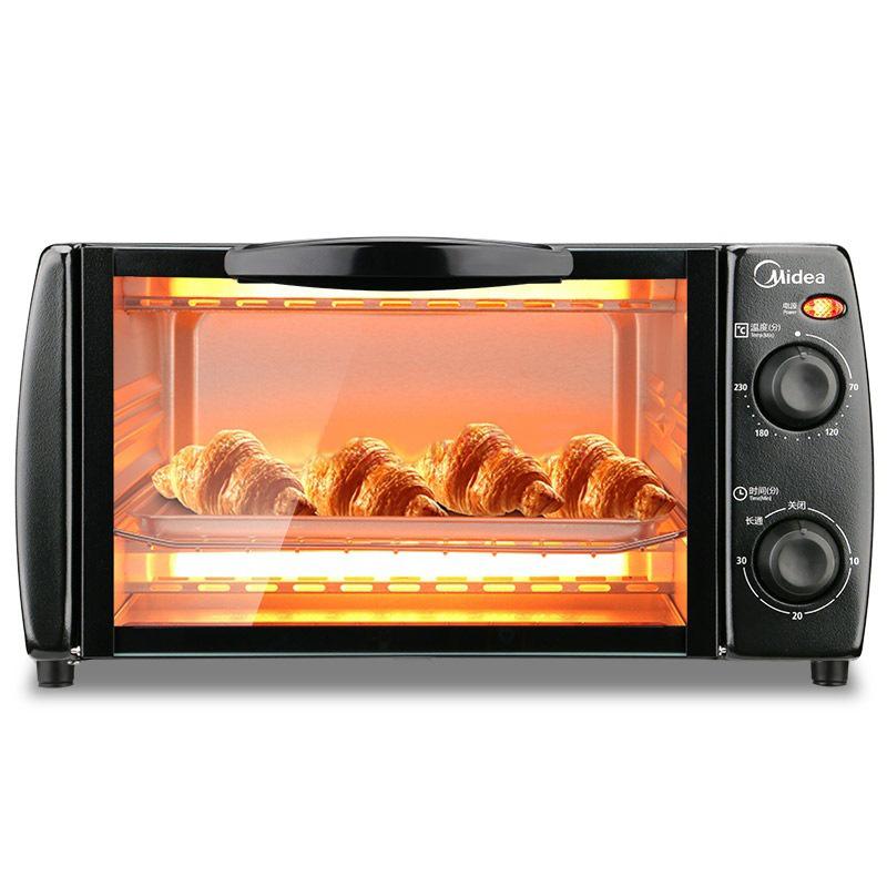 Midea Lò vi sóng, lò nướng / Midea T1-L101B lò nướng điện đa chức năng nướng bánh nhỏ điều khiển nhi
