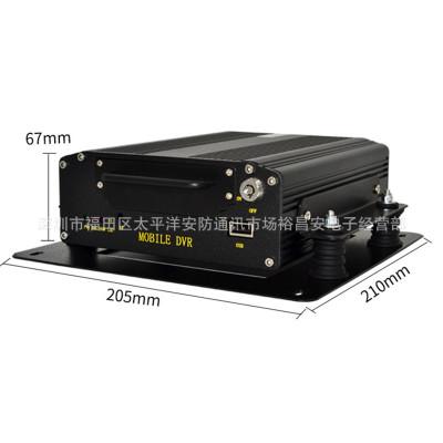 Đầu ghi hình camera  Xe AHD 4 kênh 2 triệu hình ảnh Thẻ SD DVR từ xa định vị GPS máy chủ giám sát xe