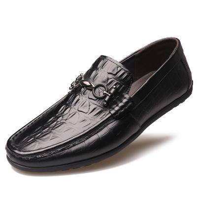 Giày mọi đế thấp Giày đậu Hà Lan Giày nam mùa xuân và mùa thu Giày nam mới thông thường một đôi giày