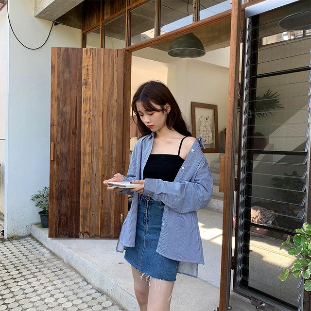 Hooozen Dây treo trang phục 2019 xuân hè mới co giãn đan dây thun mỏng backless mỏng dây đeo vai nhỏ