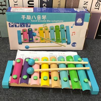 Đồ giảng dạy trẻ sơ sinh Trẻ sơ sinh gõ piano 8-10 tháng tuổi bé 2 phát triển đồ chơi giáo dục sớm t