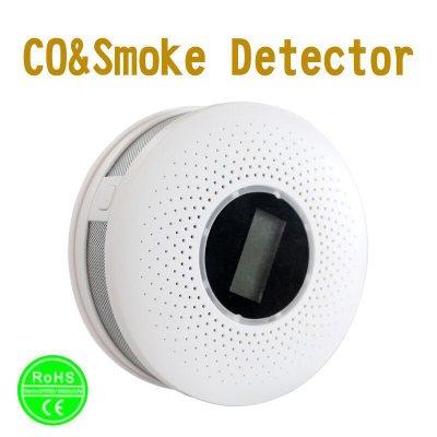 Thiết bị báo khói  Khói báo động hỗn hợp carbon monoxide khói CO báo động khói CO & khói hai trong m