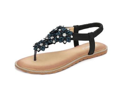 Thị trường giày nữ Dép nữ 2019 hoa mới tập trung vào giày nữ ngoại cỡ lớn hỗ trợ thế hệ nền tảng Ama