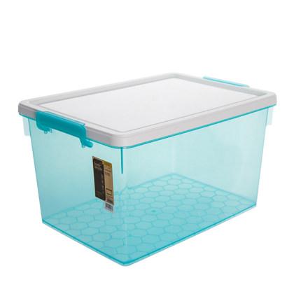 Citylong  Thùng nhựa  hộp lưu trữ trong suốt bằng nhựa thêm giải phóng mặt bằng lớn ba mảnh bìa lưu