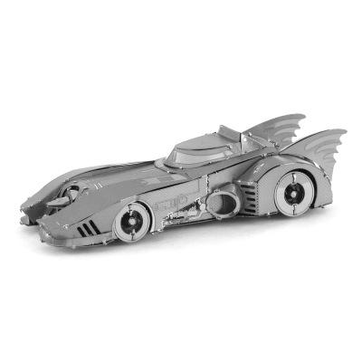 Tranh xếp hình 3D Yêu chính tả kim loại DIY lắp ráp mô hình câu đố 3D Batman 1989 Batmobile