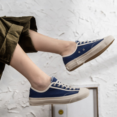 Giày Sneaker / Giày trượt ván Ami shoes giày vải cho nam và nữ đôi thấp để giúp Kurume đi giày lưu h